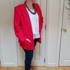 NWT Vintage Red Blazer